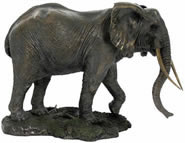 Serengeti Elephant Sculpture