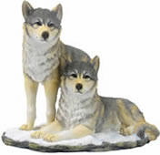 Wolf Pack Sculpture
