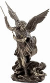 St. Michael Statue- Slaying The Demon