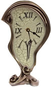 Art Nouveau Melting Clock II