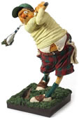 The Golfer Statue by Guillermo Forchino
