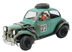 The Rally Car Statue by Guillermo Forchino