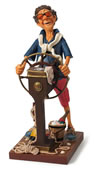 The Weekend Captain Comic Statue