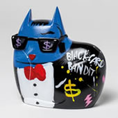 Big City Cat Blue Sammy Statue