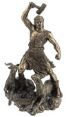 Thor Statue- Norse God of Thunder
