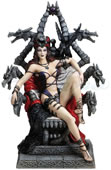 Throne of Possession Statue