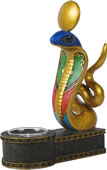 Egyptian Cobra Tea Light Holder