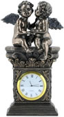 Whispering Cherubs Clock