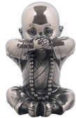 Little Monk Figurine- Speak No Evil