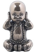 Little Monk Figurine- Hear No Evil
