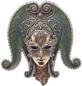 Tropical Mask Wall Plaque