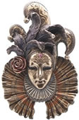 Jester Mask Wall Plaque