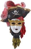 Pirate Mask Wall Plaque