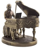 Mozart Sculpture