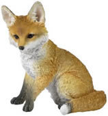 Fox Cub Figurine