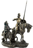 Don Quixote and Sancho Panza Sculpture