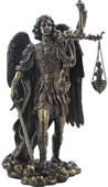 Saint Michael Weighing Souls Sculpture