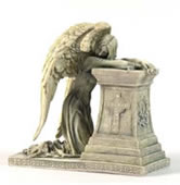 Gothic Angel Weeping Figurine