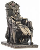 Egyptian Dancer Sitting Statue