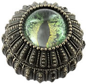 Dragon's Eye Trinket Box, Green