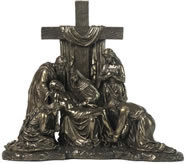 Jesus Removed From The Cross Sculpture