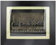 The Last Supper Framed Wall Sculpture
