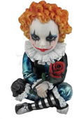 Cosplay Kids Figurine- Jester Holding A Rose
