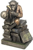 Chimpanzee Scholar Trinket Box