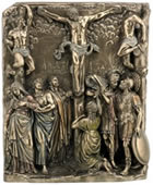 Calvary Wall Plaque
