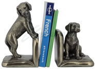 Labrador Retriever Puppy Bookends