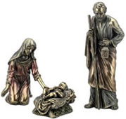 Nativity Statue Set- Jesus, Mary And Joseph