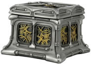 Steampunk Butterfly And Gears Trinket Box II