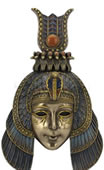 Cleopatra Headdress Mask Wall Plaque