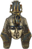 Tutankhamen Mask Wall Plaque