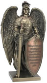Take Up The Shield Of Faith Angel Statue