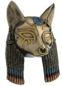 Bastet Mask Wall Plaque