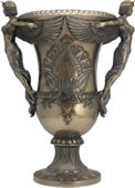 Art Deco - Egyptian Winged Goddesses Vase
