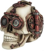 Steampunk Skull Trinket Box II