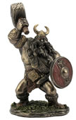 Viking Warrior Statue- Animation Style