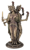 Hecate - Greek Goddess Of Magic Statue