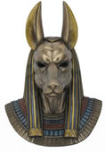Anubis Egyptian God of the Dead Wall Sculpture