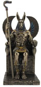 Anubis Egyptian God of the Dead Sculpture