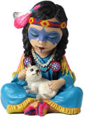 Cosplay Kids Series-Indian Girl Figurine