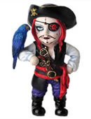 Cosplay Kids Series-Pirate Captain Figurine