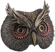Steampunk Owl Mask Wall Art
