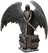 Guardian Angel with Sword Statue
