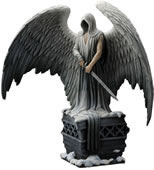 Guardian Angel with Sword Statue (Color)