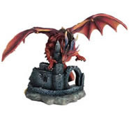Castle Guardian Dragon Statue