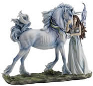 Long Live Magic Fairy/Unicorn Statue
