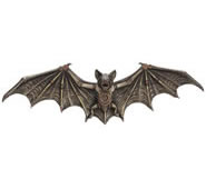 Steampunk Bat Wall Plaque